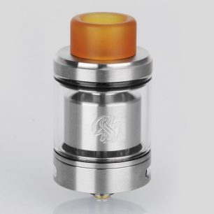 authentic-wotofo-serpent-smm-rta-rebuildable-tank-atomizer-silver-stainless-steel-4ml-24mm-diameter